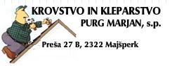 KROVSTVO IN KLEPARSTVO PURG MARJAN S.P.