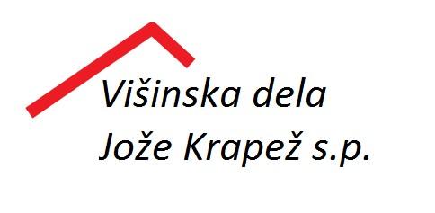 VIŠINSKA DELA JOŽE KRAPEŽ S.P.