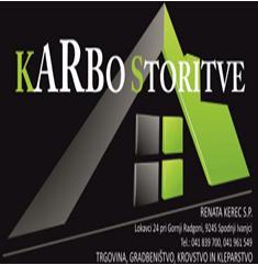 KARBO -  STORITVE, GRADBENIŠTVO, KROVSTVO IN KLEPARSTVO,  RENATA KEREC S.P.