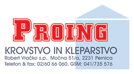 PROING - MONTAŽA KOVINSKIH KONSTRUKCIJ ROBERT VRAČKO S.P.