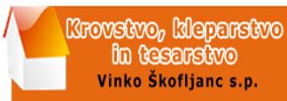 KROVSTVO, KLEPARSTVO IN TESARSTVO - ŠKOFLJANC VINKO S.P.